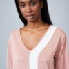 Native Youth Sade Dress in Dusty Pink