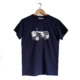 fishboypz tractor t-shirt in navy
