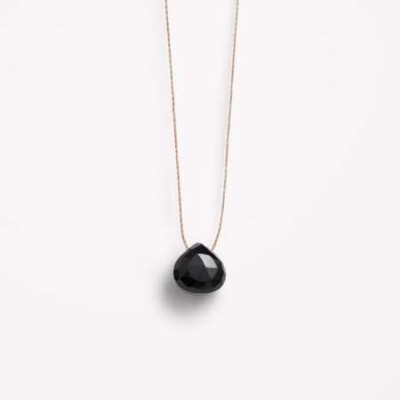 Wanderlust Life Black Spinel Necklace