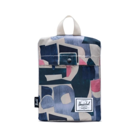 Herschel Supply Co. Packable Daypack in Abstract Block