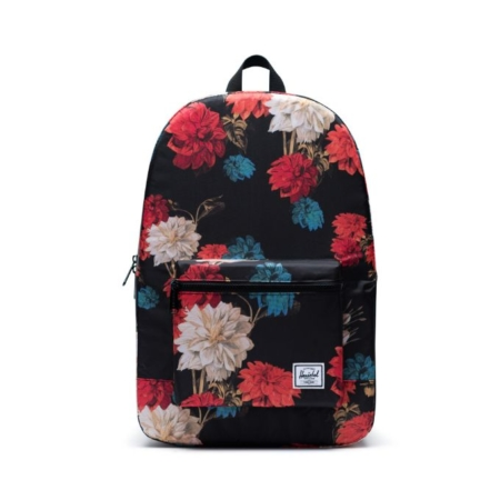Herschel Supply Co. Packable Daypack in Vintage Floral Black