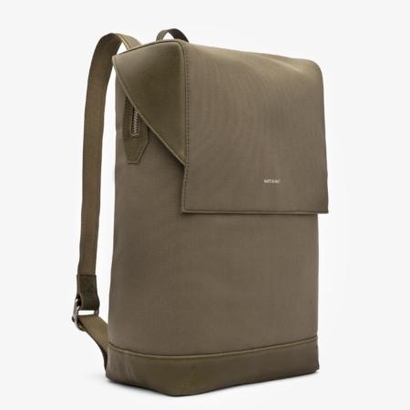 Matt & NatHoxton Canvas Backpack in Olive