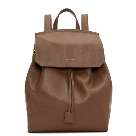 Matt & Nat Mumbai Dwell Backpack in Brick