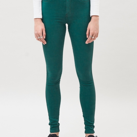 Dr Denim Plenty Jeans in Deep Green