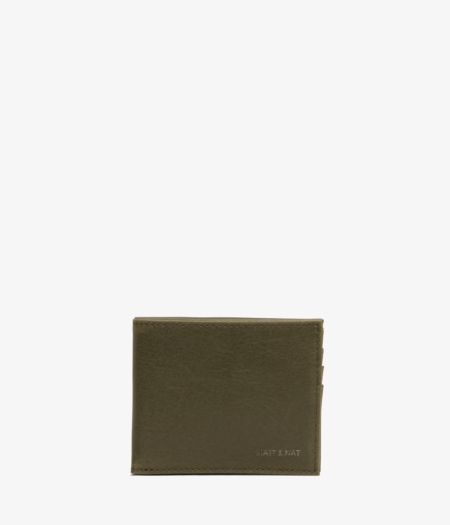 Matt & Nat Rubben Wallet in Olive
