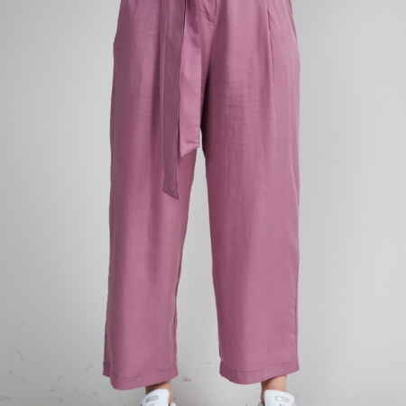 Native Youth Amelia Trouser in Dusty Purple