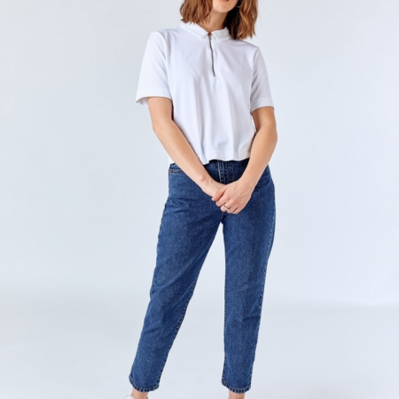 Dr Denim Nora Jeans in Mid Retro Wash