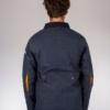 Peregrine Hybrid Fleet Jacket in Navy/Orange