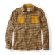 Peregrine Blackburn Checked Shirt in Navy/Mustard