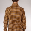 Peregrine Blackburn Checked Shirt in Navy/Mustard