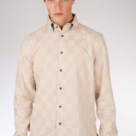 Peregrine Gibson Shirt in Oatmeal