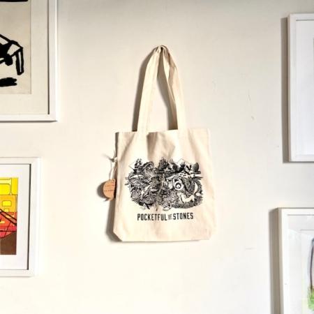 Fishboy PZ Pocketful of Stones Tote Bag