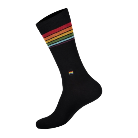 Conscious Step Socks That Save LGBTQ Lives in Black