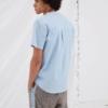 Libertine-Libertine Ant Safari Short Sleeve Shirt in Melange Stripe