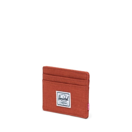 Herschel Supply Co Charlie Card Holder Wallet in Picante Crosshatch.