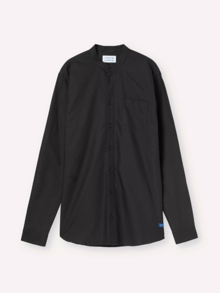 Libertine-Libertine Factory Panama Shirt in Black