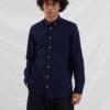 Libertine-Libertine Hunter Panama Shirt in Peacoat