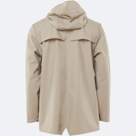 Rains Waterproof Jacket in Beige