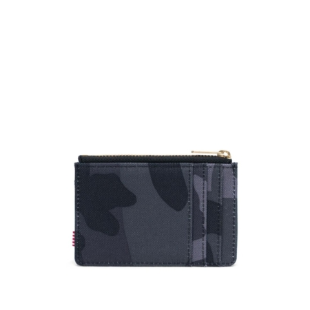 Herschel Supply Co Oscar Card Holder Wallet in Night Camo