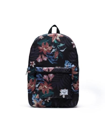 Herschel Supply Co Packable Daypack in Summer Floral Black