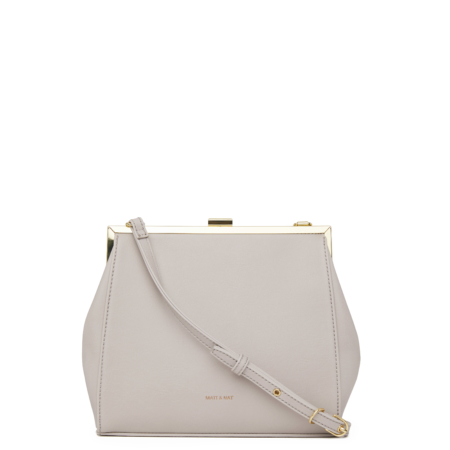 Matt & Nat Reika Vintage Crossbody Bag in Pearl