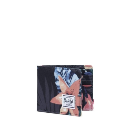 Herschel Supply Co Roy Wallet in Summer Floral Black