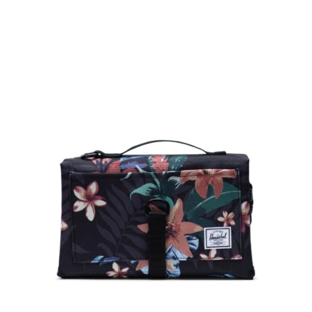 Herschel Supply Co Sprout Change Mat in Summer Floral Black