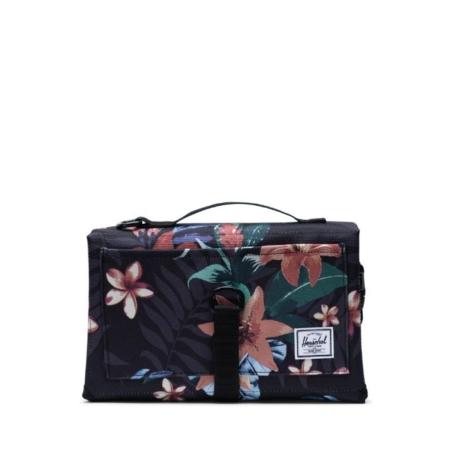 Herschel Supply Co Sprout Change Mat in Summer Floral Black