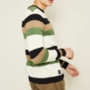 Native Youth Aintree Jumper in Contrast Stripe