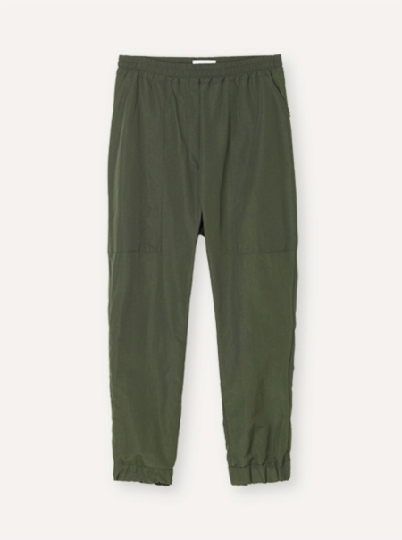 Libertine-Libertine Chain Trousers in Riffel Green