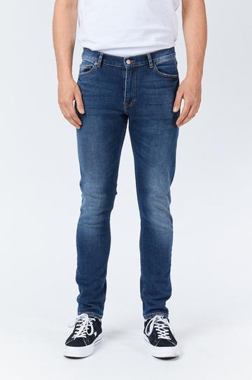 Dr Denim Clark Jeans in Blue Grit