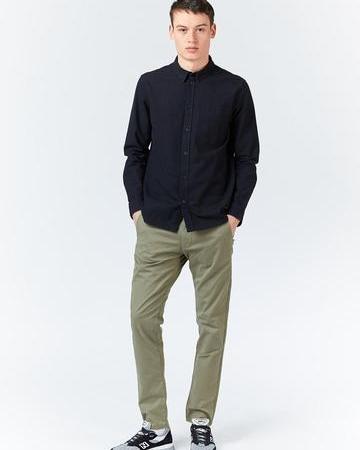 Dr Denim Dale Shirt in Black