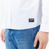 Dr Denim Dale Shirt in White