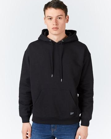 Dr Denim Damien Hoodie in Black