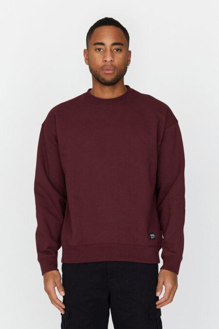 Dr Denim Dario Sweater in Mulberry Wine