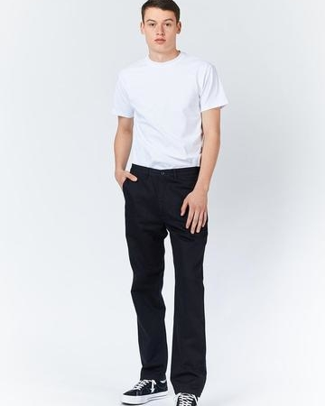 Dr Denim Dash Chino in Black