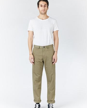 Dr Denim Dash Chino in Light Emerald