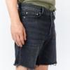 Dr DenimGene Shorts in Black Dusk