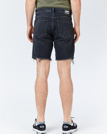 Dr Denim Gene Shorts in Black Dusk