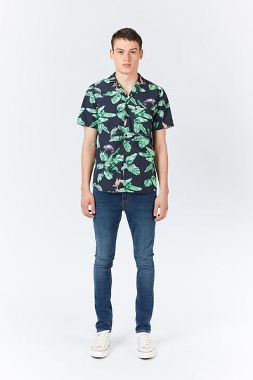 Dr Denim Chameleon Kai Short Sleeve Shirt.