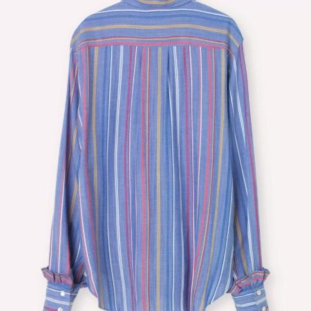 Libertine-Libertine Point Shirt in Multi Stripe