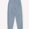Libertine-Libertine Repeat Trousers in Light Blue Check