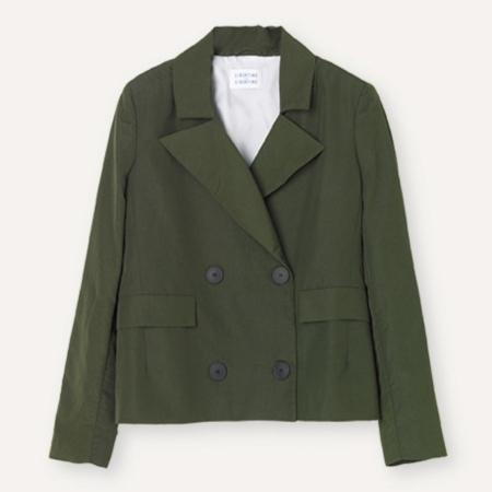 Libertine-Libertine Sprung Jacket in Riffel Green