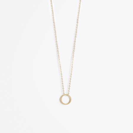 Wanderlust Life Fine Gold Unity Necklace