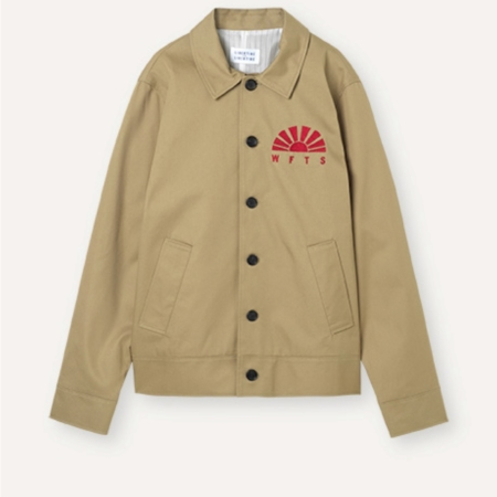 Libertine-Libertine Voice WFTS Jacket in Camel