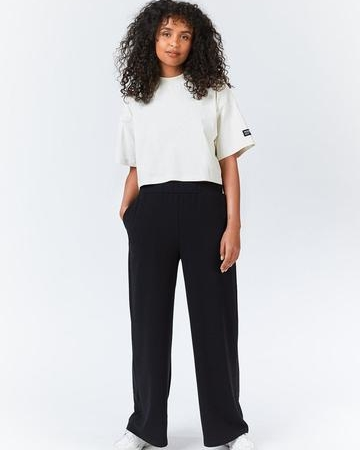 Dr Denim Black Bell Trousers