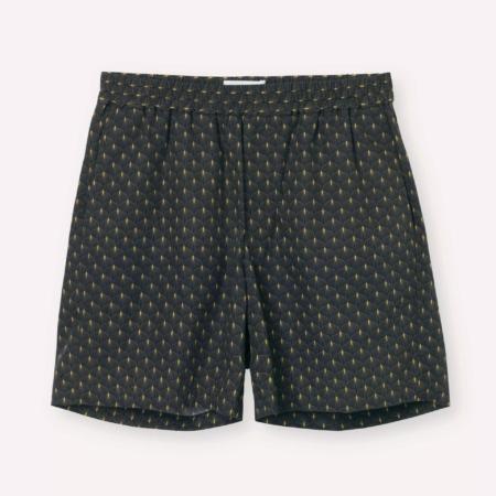 Libertine-LibertineFront Lumen Shorts in Gold Leaf