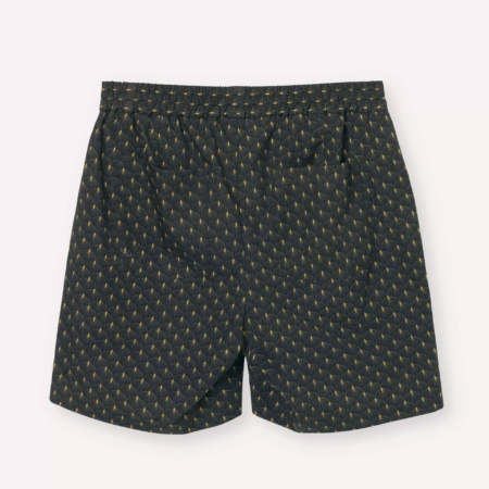 Libertine-Libertine Front Lumen Shorts in Gold Leaf