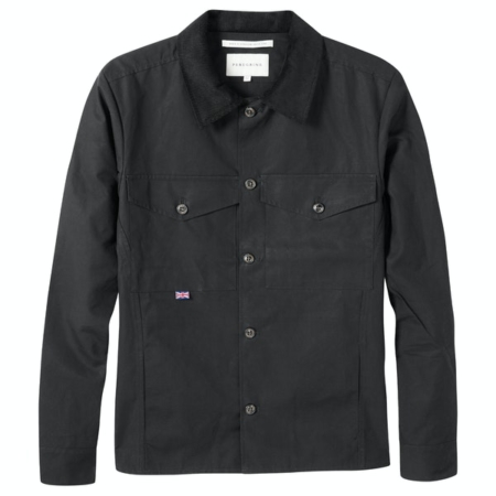 Peregrine Hixton Overshirt in Black