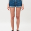 Dr Denim Jenn Shorts in Mid Retro